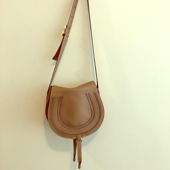 865b1f4b Chloe Marcie Medium Crossbody Bag - beige/tan